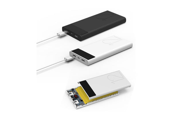 Geepas Dual Usb Power Bank 12000Mah