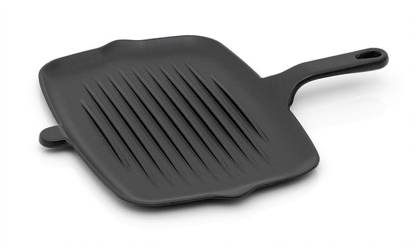 Paleo Cornered Short Grill 32X22Cm 0.32 Litre Black