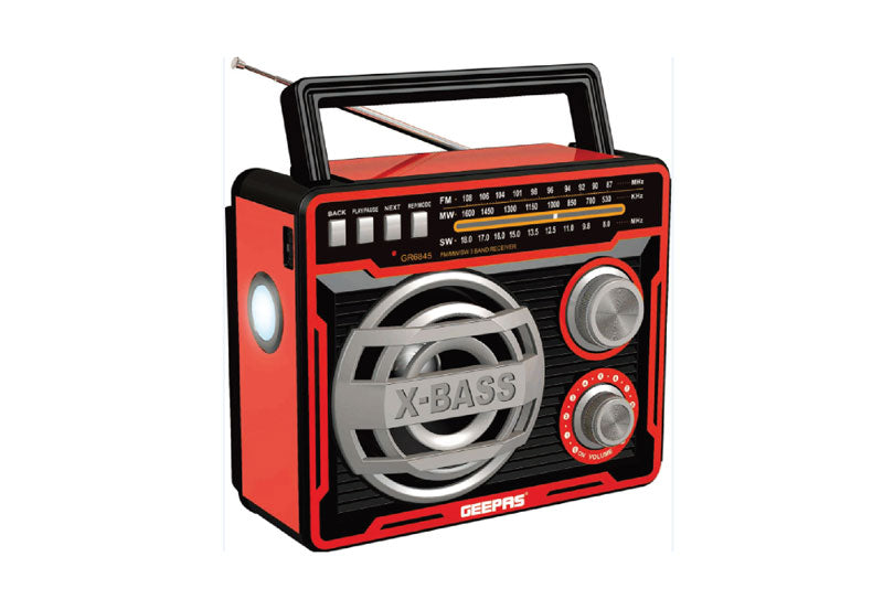 جيباس RADARGEABLE RADIO مع بلوتوث