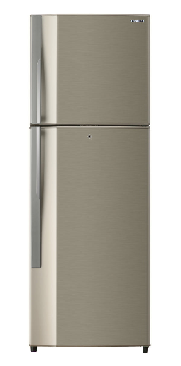 TOSHIBA Refrigerator, 290 Ltrs, No Frost, 2 Door, Gold