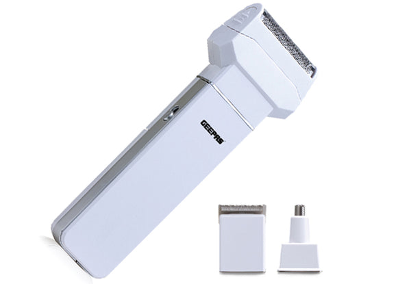 Geepas  3 in 1 Rechargeable Hair & beard Trimmer