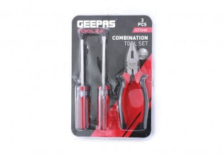 GEEPAS 3 Pcs Combination Tool Set 1x24