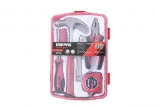GEEPAS Home Owner 6Pcs Toolz Set/20 Bits 1x24