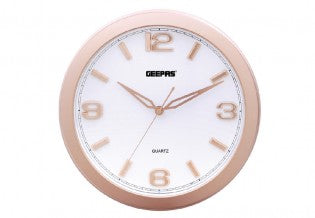 GEEPAS Wall Clock/Taiwan Movement 1x20