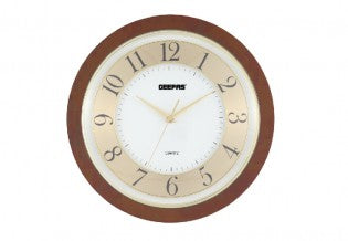 GEEPAS Wall Clock/Taiwan Movement 1x6
