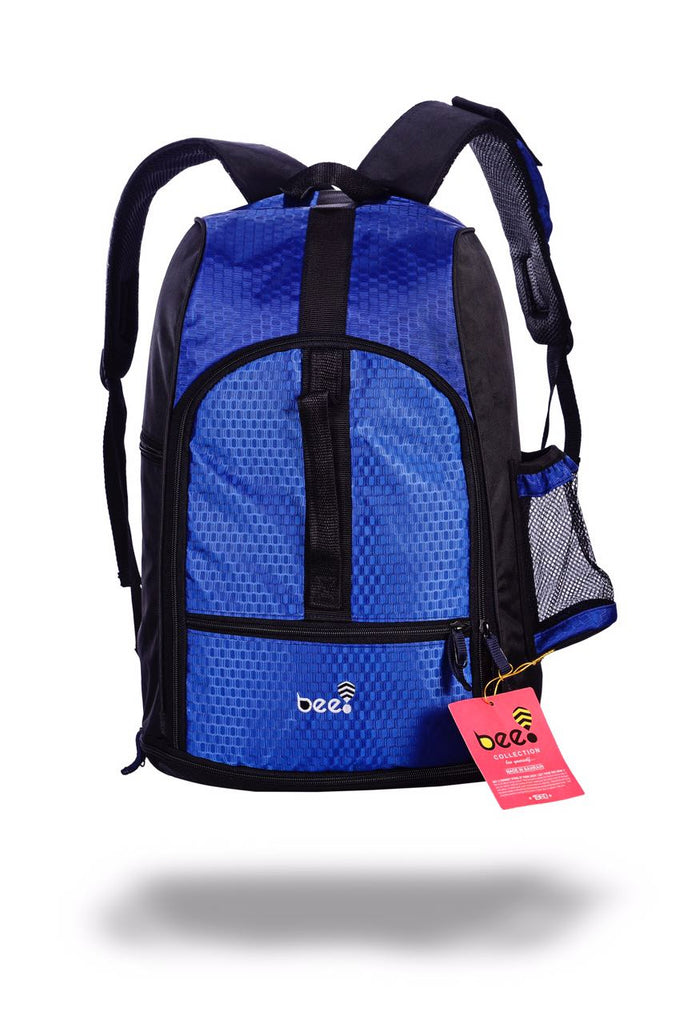 BEE GYM BAG BACKPACK BLUE