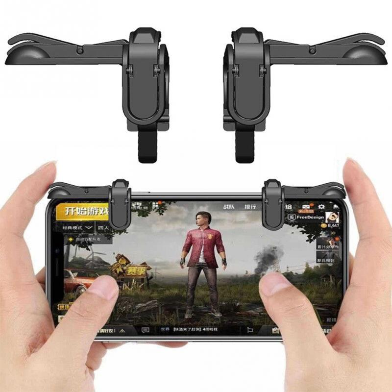 Gamepad Gaming Gamer Android Joystick Extended Handle Game Pad for iPhone Xiaomi yi Smartphone Phone Gamepad Trigger Fire # 1116