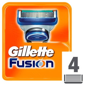 Gillette Fusion Manual Replacement Blades 4pcs