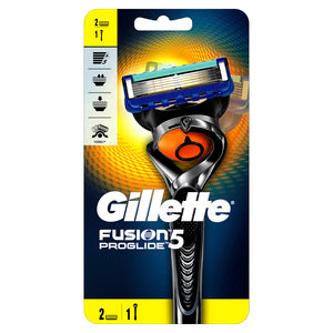 Gillette Fusion ProGlide FlexBall Men's Razor Handle + 2 Blades