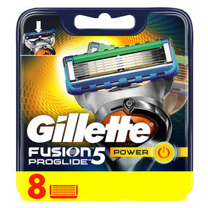 Gillette Fusion ProGlide Power Men's Razor Blades 8pcs