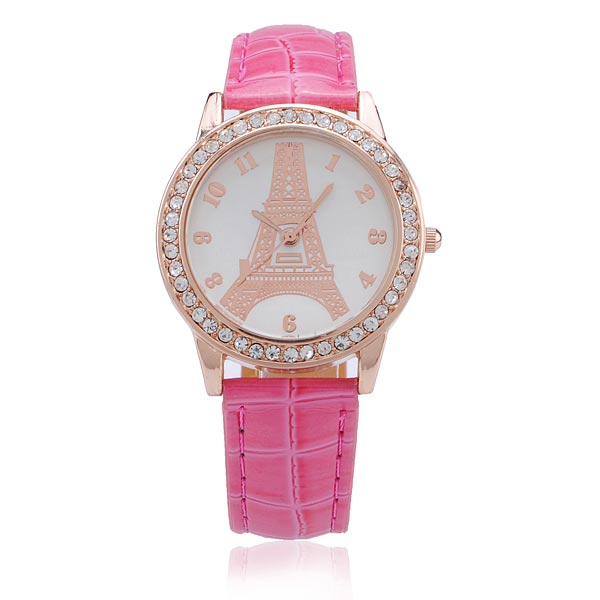 Gogoey Women Rhinestone Quartz Luxury Fashion Watch