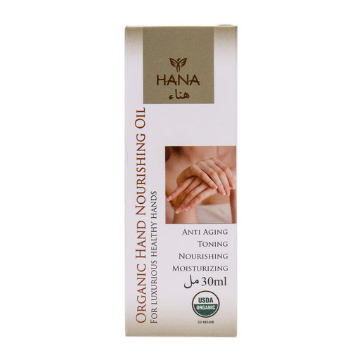 Hana Organic Nourishing Hand Oil 30ml