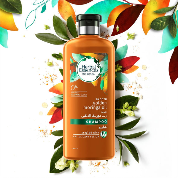 Herbal Essences Bio:Renew Smooth Golden Moringa Oil Shampoo 400ml