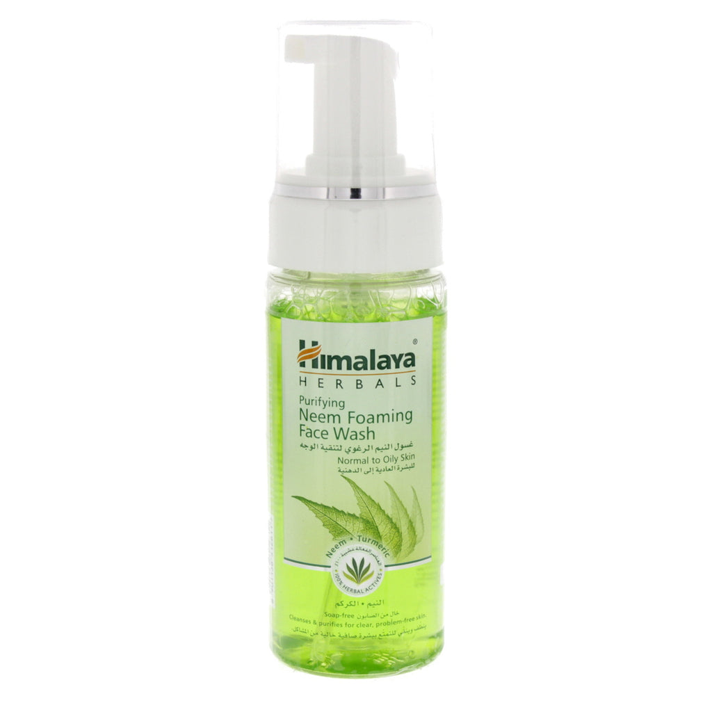 Himalaya Herbals Purifying Neem Foaming Face Wash Normal to Oily Skin 150g