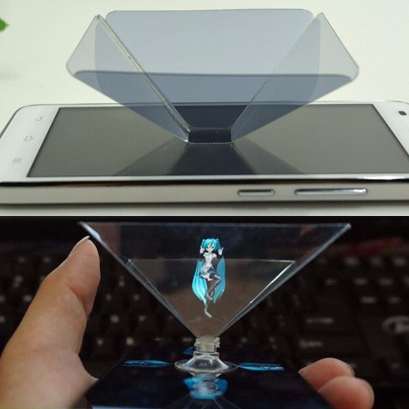 Holographic Display Stand 3D Projector For iPhone 6/6S Plus iPhone 6/6S Smartphone