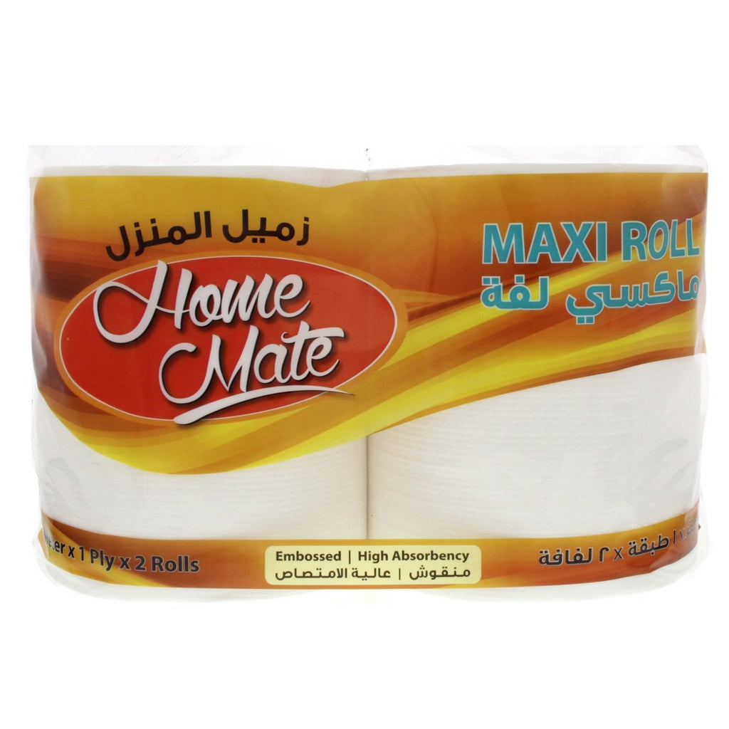 Home Mate Maxi Roll 175 meter x 1 Ply x 2 Rolls