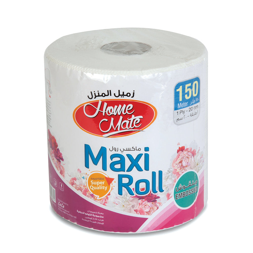Home Mate Maxi Roll Embossed 1ply 150meters