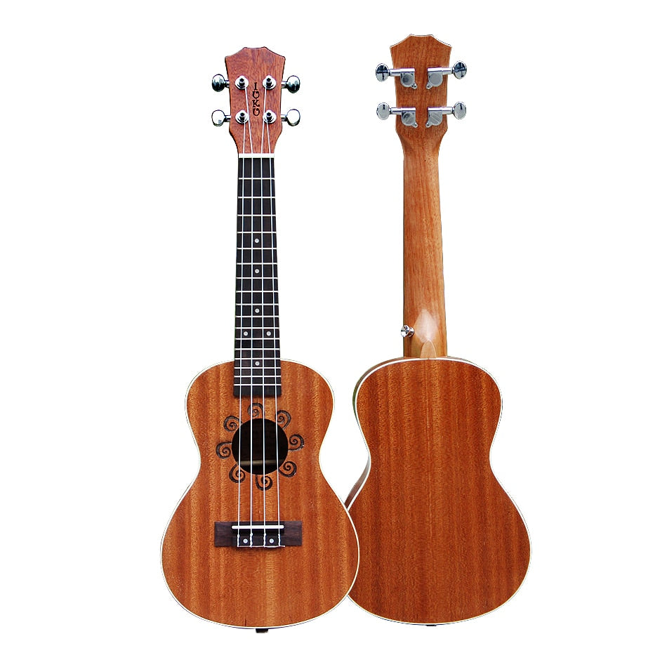"IUKU uk-24 NEW 23"" Billy ukulele wood color guitar free shipping"