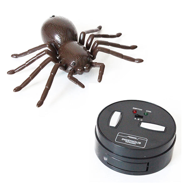 Infrared Electric RC Spider Simulation Remote Control Tricky Spider Toy