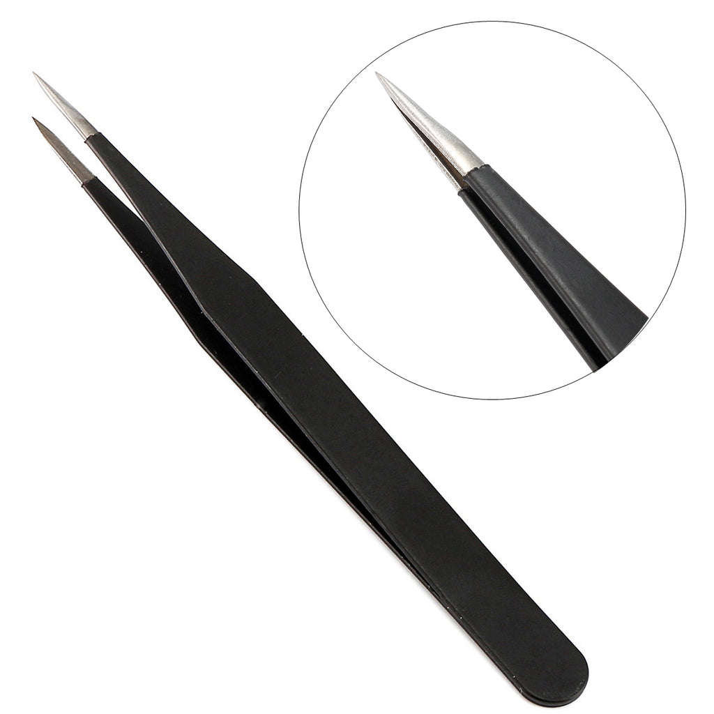 Ingrown Hair Tweezers Eyebrow Splinter Removal Nail Rhinestones Nipper Stainless Steel Blackhead Picking Tool