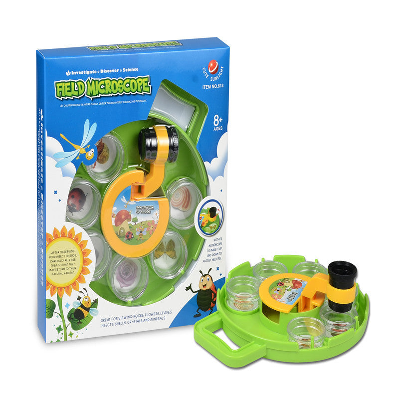 Insects Plant Viewer Children's Microscope Educational Gadget Toys Fun For Kids Birthday Gift