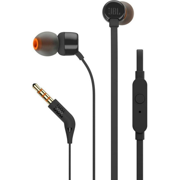 JBL In-ear headphones T110 Black