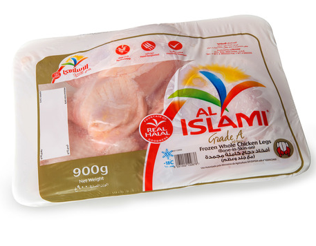 Al Islami Frozen Chicken Whole Legs 900g x 2pcs