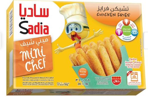 Sadia Mini Chef Chicken Fries 400g