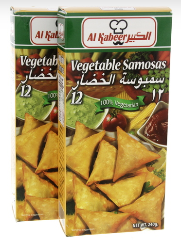 Al Kabeer Vegetable Samosas 240g x 2pcs