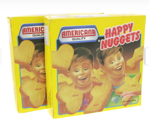 Americana Happy Nuggets Chicken 400g x 2pcs