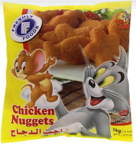 Freshly Foods Frozen Chicken Nuggets 1kg