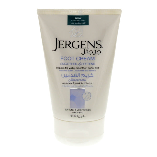 Jergens Softens And Moisturizes Foot Cream 100ml