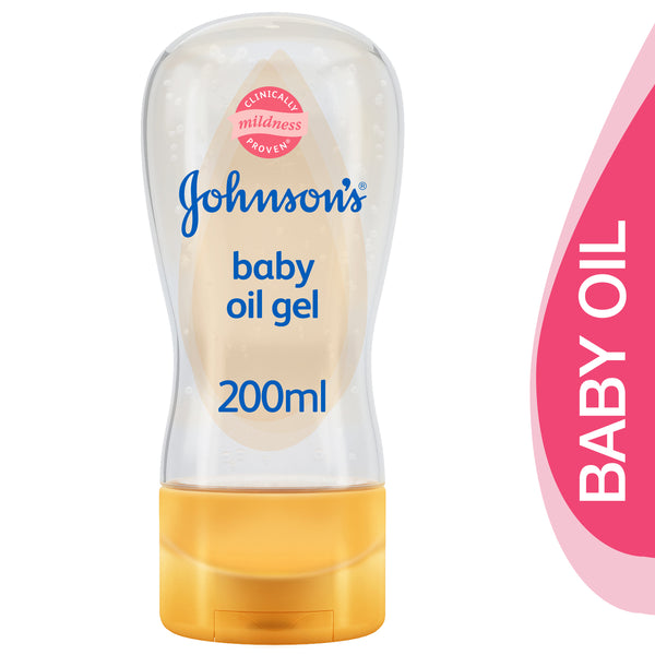 Johnson's Baby Baby Oil Gel With Blossom Scent 200ml