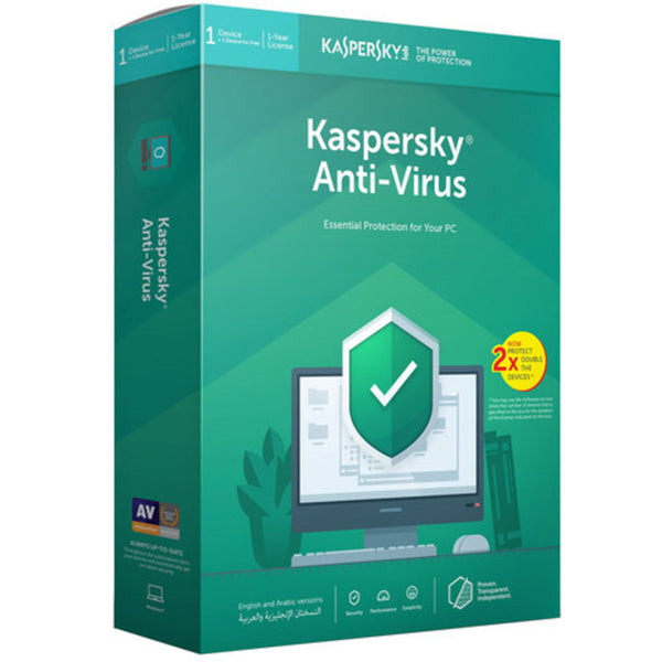 Kaspersky Anti-virus 2019 1+1User