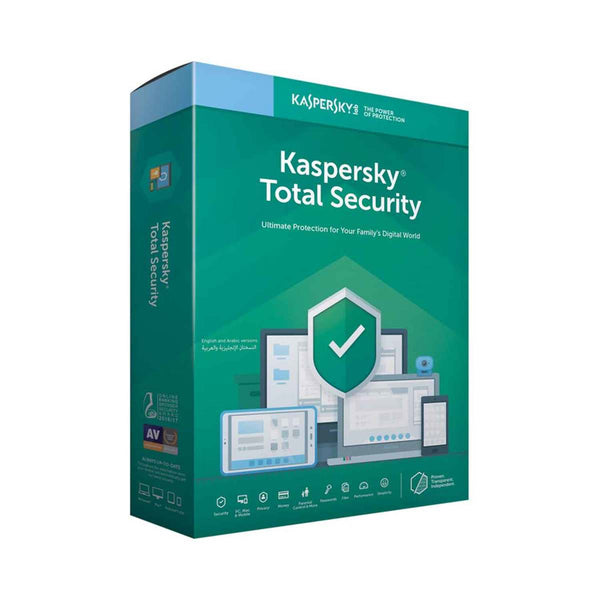 Kaspersky Total Security 2019 1User