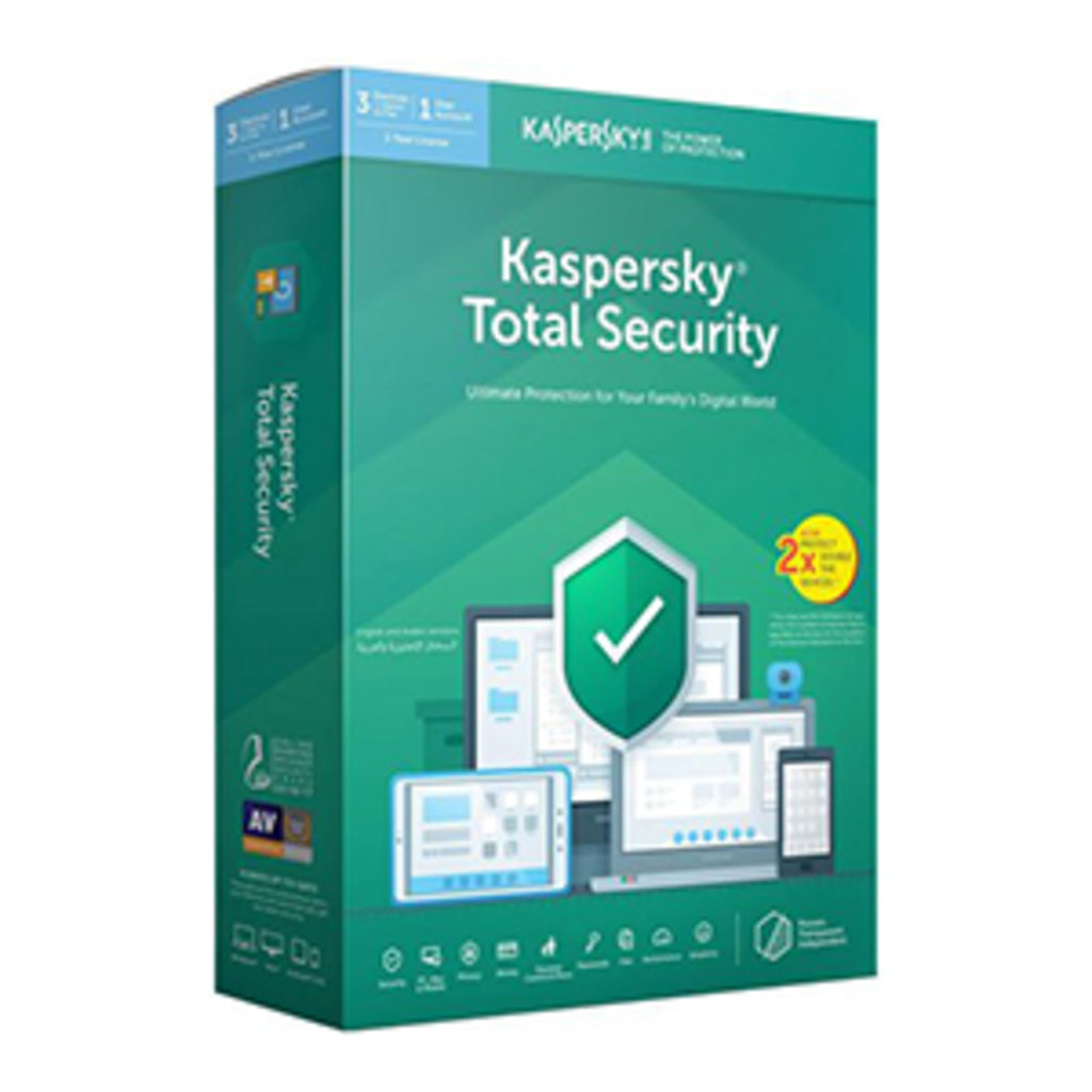 Kaspersky Total Security 2019 3+1 User