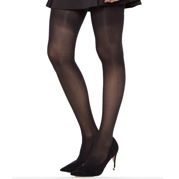 Kathie Lee Queen Size Control Top Pantyhose Off Black