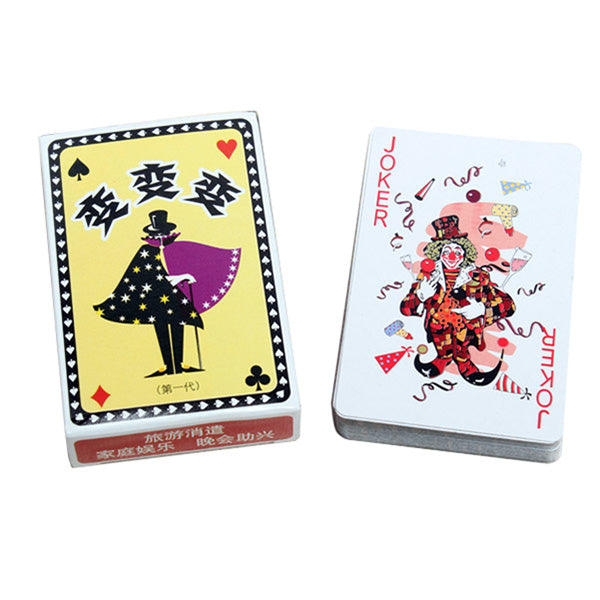 Kingmagic Magic Poker Playing Cards Magic Toy Magic Props G0295