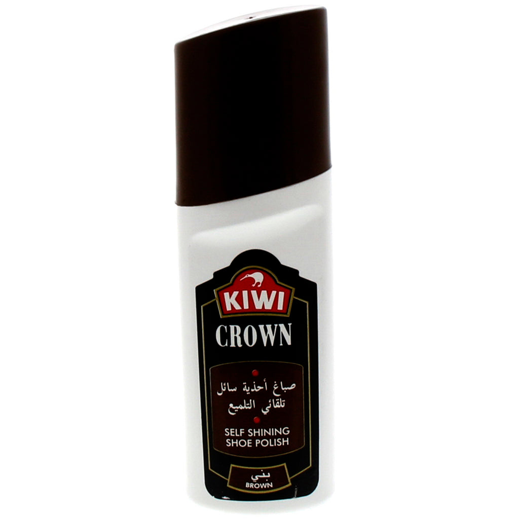 Kiwi Crown Self Shining Shoe Polish Brown 75 Ml