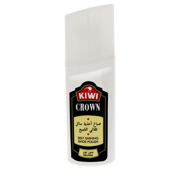 Kiwi Crown Self Shining Shoe Polish Neutral 75 Ml