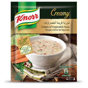 Knorr Cream Of Vegetable Soup 79g x 12 Pieces
