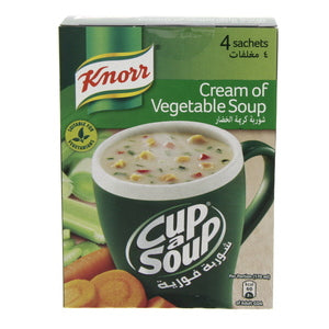 Knorr Cup A Soup Cream Of Vegetable 72g