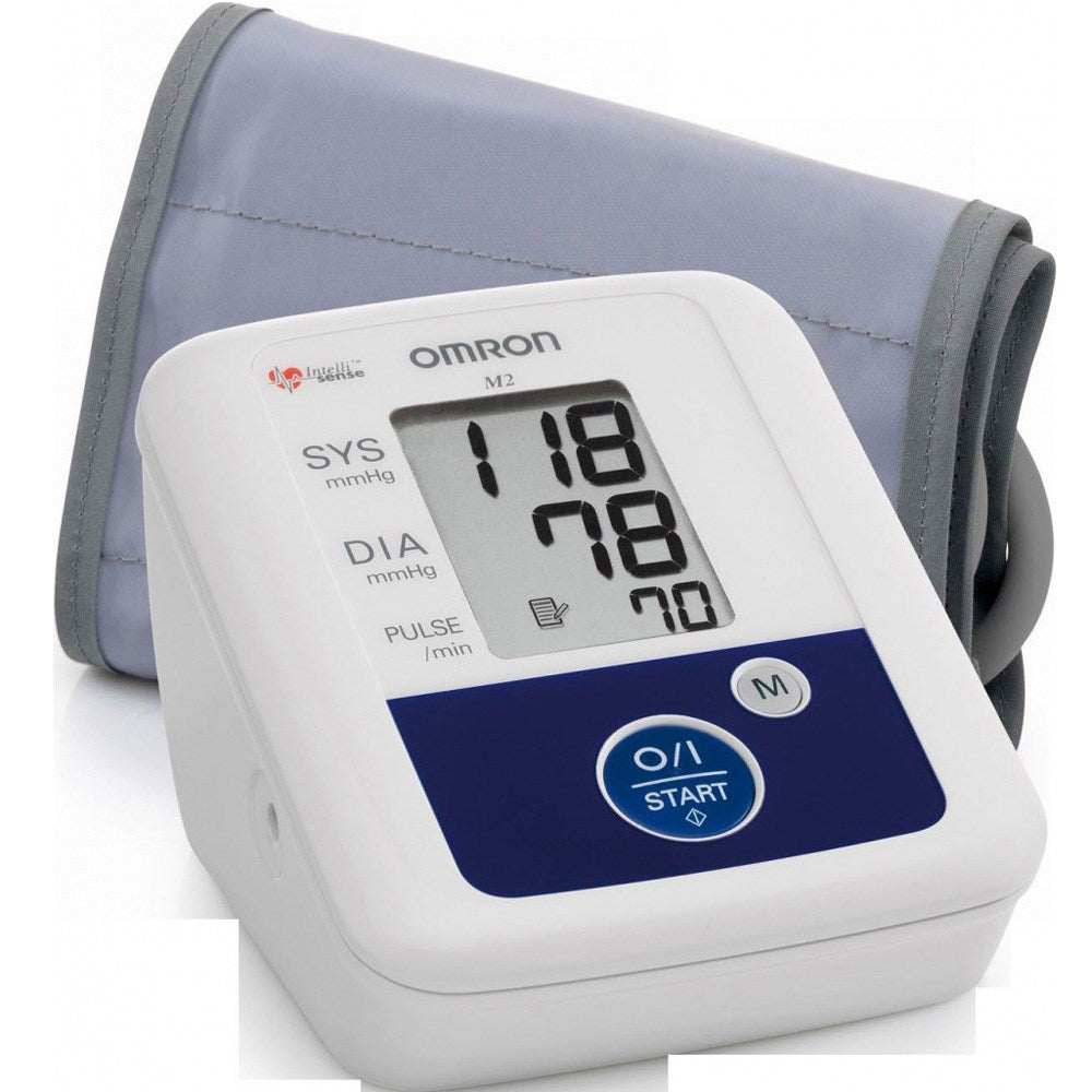 Omron Blood Pressure Monitor M2+Eco Thermometer