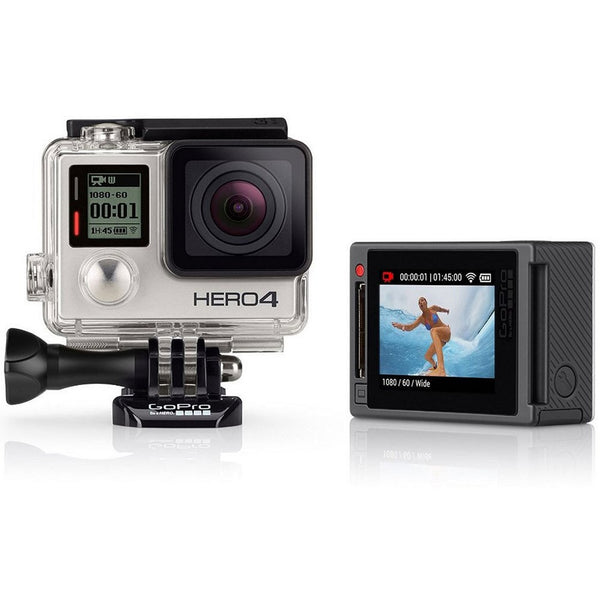 GoPro Hero4 Camera CHDHY-401 Silver