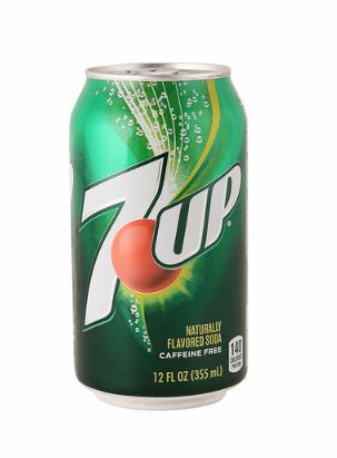 7 Up Naturally Flavored Soda 355ml