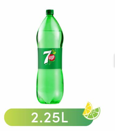 7Up Bottle 2.25Liter