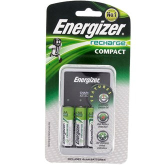 Energizer Rechargeable AA Battery + Charger