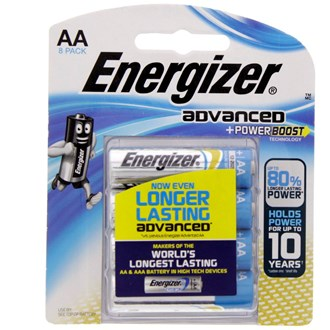 Energizer Advanced + Power Boost AA Battery