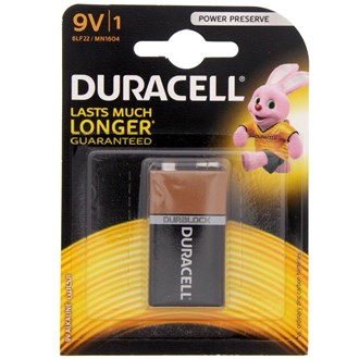 Duracell Ultra Battery 9 V
