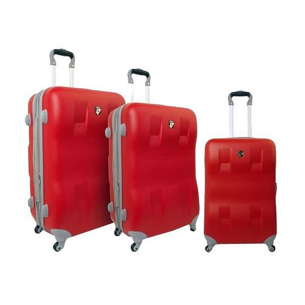 Heys EcoCase Hard Trolley 26in Red